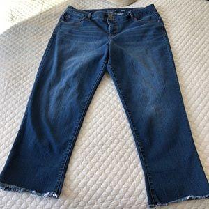 Style & Co Ankle Jeans, sz 16W